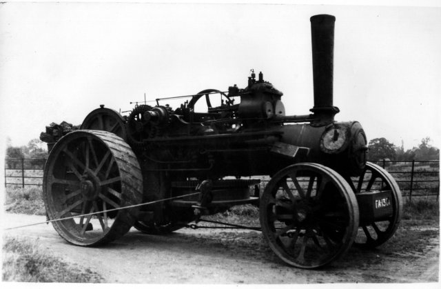 Picture of ploughing engine
